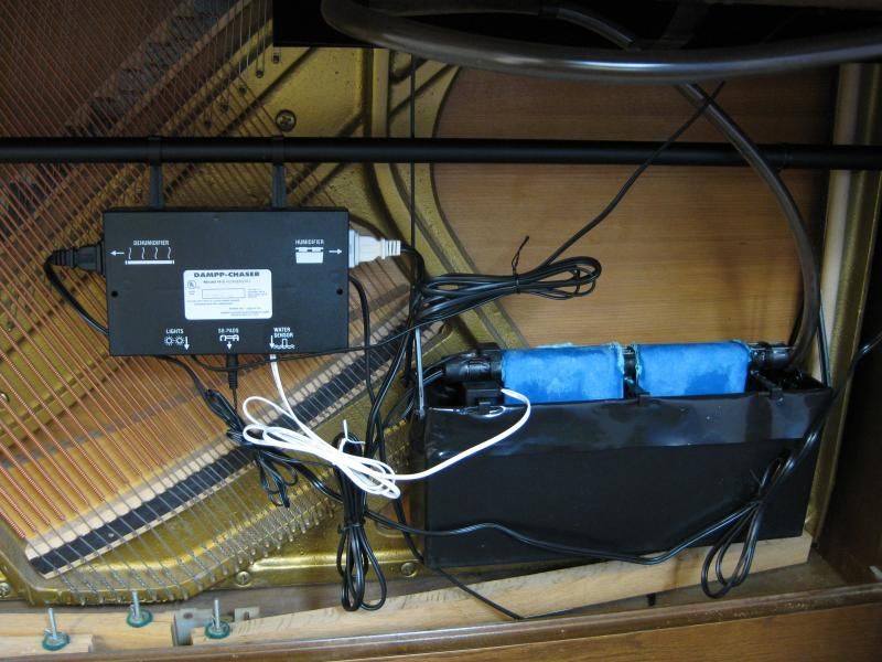 Piano humidity control system.